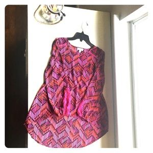 Girl's Fuchsia Tunic